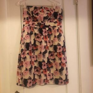 J Crew strapless dress with tags
